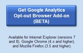 Google analytics opt-out browser plugin